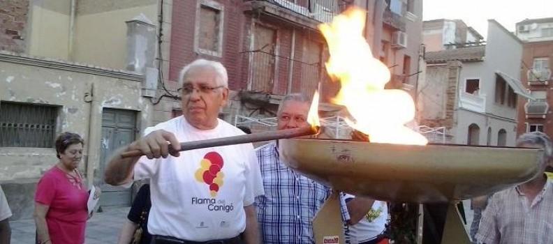Arribada Flama del Canigó a Lleida
