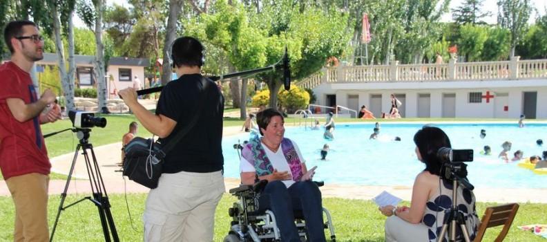 Càrol Garcia i les seves vivències des de les piscines d'Almacelles: