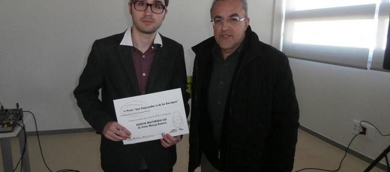 1er Premi Emprenedor de les Garrigues per a Victor Masip